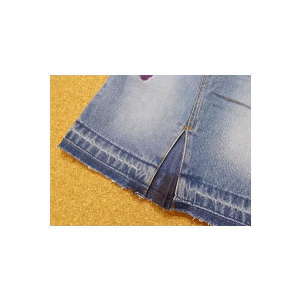 40%OFF SALE/Granny Branket グラニーブランケット シシュウデニムタイトスカート 90-140 18ss|caramelmama|06