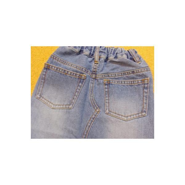 40%OFF SALE/Granny Branket グラニーブランケット シシュウデニムタイトスカート 90-140 18ss|caramelmama|07