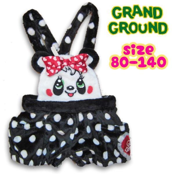 【40%OFF SALE】Grand Ground グラグラ フワフワフレンズサロペ 80-140 17aw|caramelmama