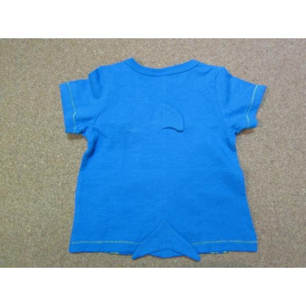 Bit'z ビッツ サメPtTシャツ 70-120 18ss|caramelmama|02