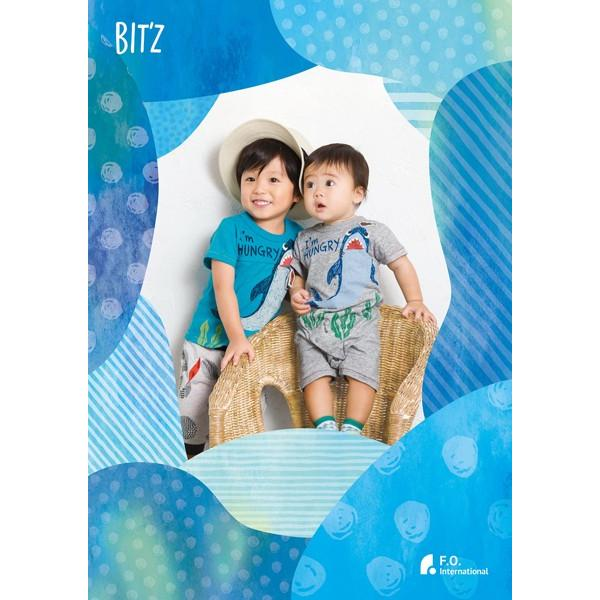 Bit'z ビッツ サメPtTシャツ 70-120 18ss|caramelmama|07