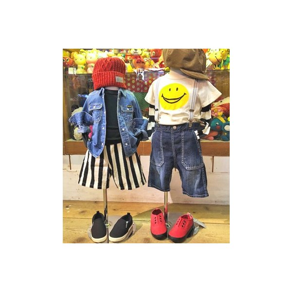 【2018spring】FOキッズ エフオーキッズ デニムシャツ 80-140 18ss caramelmama 07