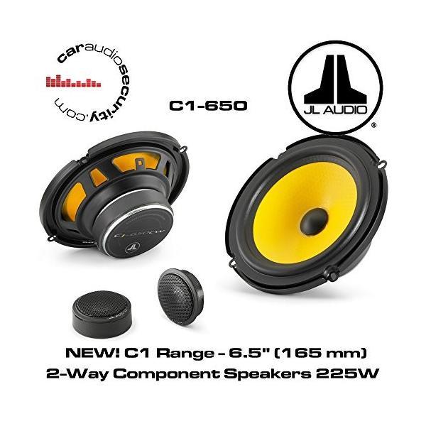 JL audio JLオーディオ C1-650 6-1/2インチ 2-Way コンポーネントカーオーディオ スピーカー