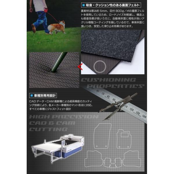 日産 セレナ ラゲッジマット C27 e-POWER ◆ カーボンファイバー調 リアルラバー HOTFIELD 送料無料 carboyjapan 03