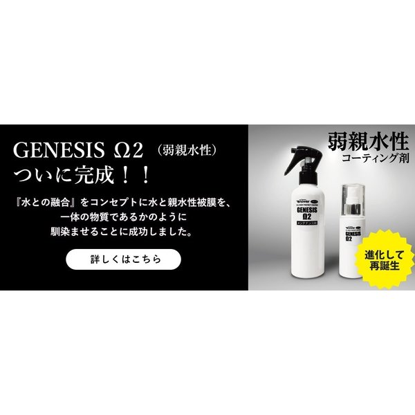 親水性コーティング剤 メンテナンス剤 セット商品 answer GENESIS Ω2・メンテナンス剤(親水促進剤)セット|carclinic|02