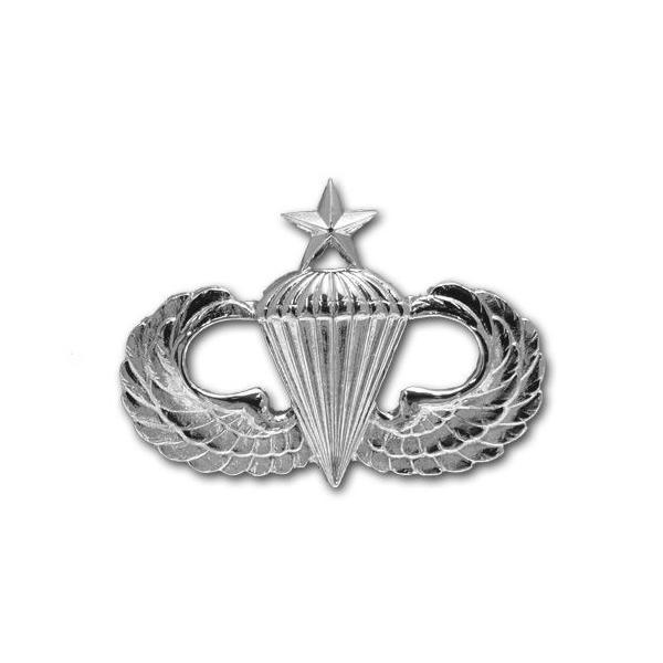 アメリカ陸軍 技能章 - パラシュート シニア章 サービスドレス胸用 米軍 ミリタリーバッジ|card-museum
