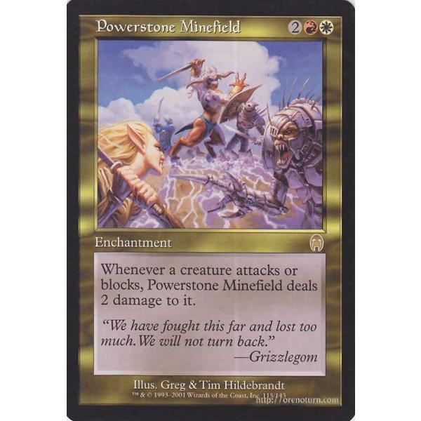 マジック:ザ・ギャザリング パワーストーンの地雷原/Powerstone Minefield (レア) ※英語版 / アポカリプス / シングルカード APC-EN115-R card-museum