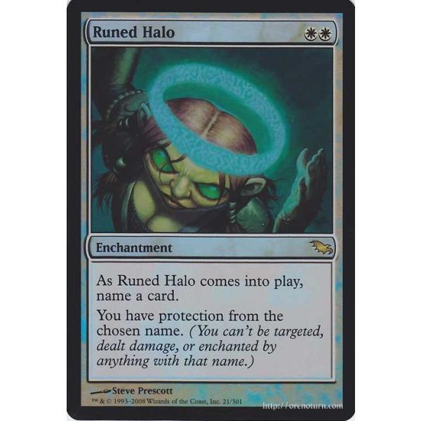 Shadowmoor MTG Light Play English Runed Halo