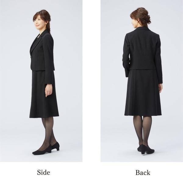 【1003406】ブラックフォーマル ワンピーススーツ 送料無料 レディース 女性 洗える ウォッシャブル|carette-shop|07