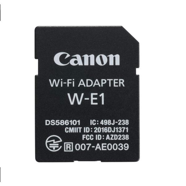 Canon Wi-Fiアダプター W-E1 キヤノン EOS 5Ds / EOS 5Ds R / EOS 7D Mark II