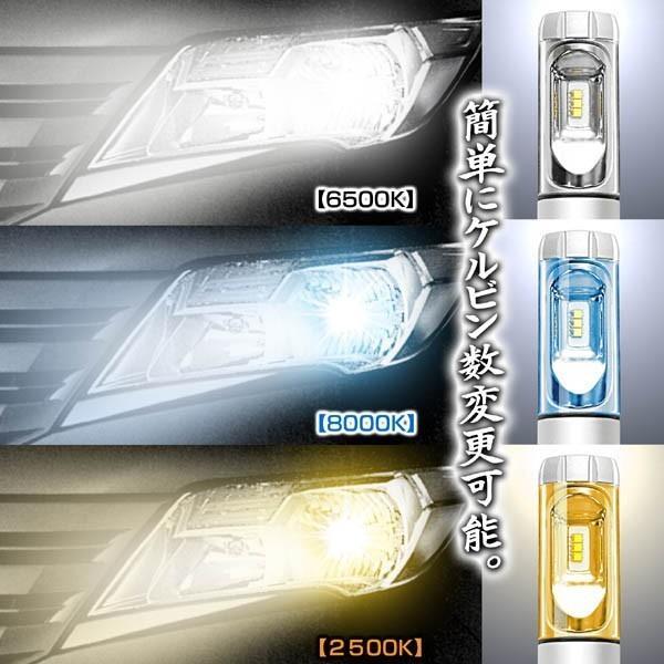 2019年最新版/プリウス/α/パッソ/プレミオ/HB3/X3 PHILIPS 12000LM/LEDヘッドライトキット50W/6500K車検対応/変換フイルム付/2個セット/1年保証|cargoodsya-shopping|06