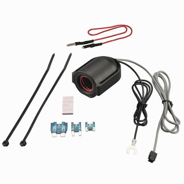 車 電源 シガーソケット 増設 カーメイト CZ482 ヒューズ電源 増設ソケット ドライブレコーダー用 ヒューズボックス シガーソケット 平型ヒューズ|ミニ平型ヒ