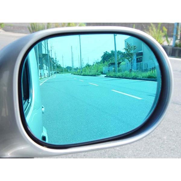 アウトバーン 広角ドレスアップサイドミラー/ライトブルー ボルボ XC90 03/05〜06/09 クロスカントリー