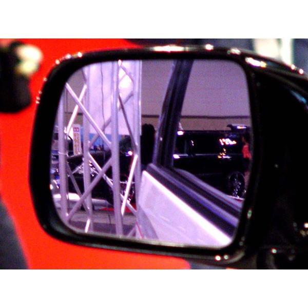 アウトバーン 広角ドレスアップサイドミラー/ピンクパープル クライスラー PTクルーザー 00〜 左ハンドル車