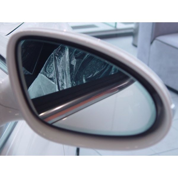 アウトバーン 広角ドレスアップサイドミラー/シルバー メルセデスベンツ CLクラス(W215) 99/10〜06/10 右ハンドル車