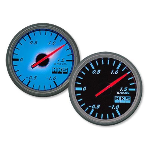 HKS(エッチ・ケー・エス) φ60ダイレクトブライトメーター 温度計(センサ長/2.5m) ブラックパネル/ホワイトスケール