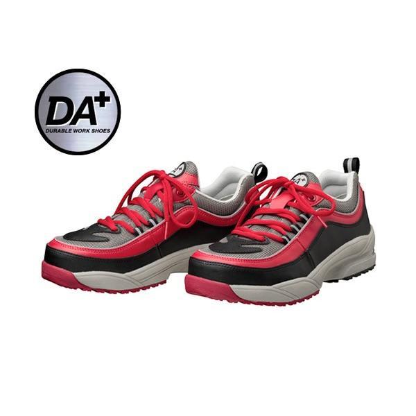 DONKEL ドンケル ダイナスティ エア プラス 紐タイプ レッド/グレー 安全靴 DA+38 30cm