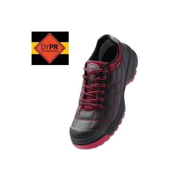 DONKEL ドンケル ダイナスティ プロ 紐タイプ ブラック/レッド 安全靴 DYPR-23 30cm