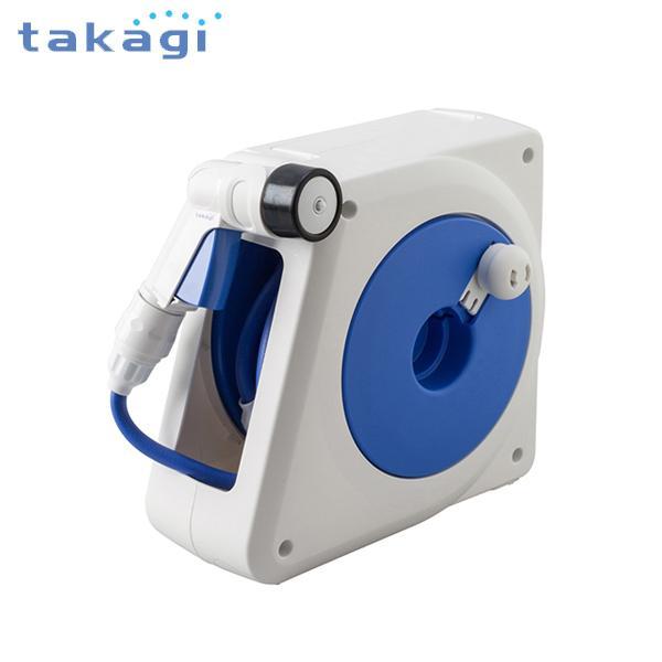 takagi タカギ 軽量コンパクトタイプ 散水ホースリール オーロラNANO 10m 内径7.5mm RM110FJ