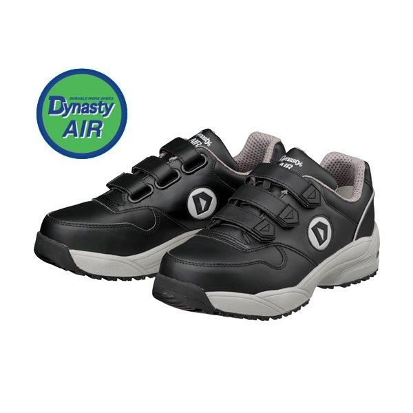DONKEL ドンケル ダイナスティ エア マジックタイプ ブラック/ブラック 安全靴 WO+22M 30cm