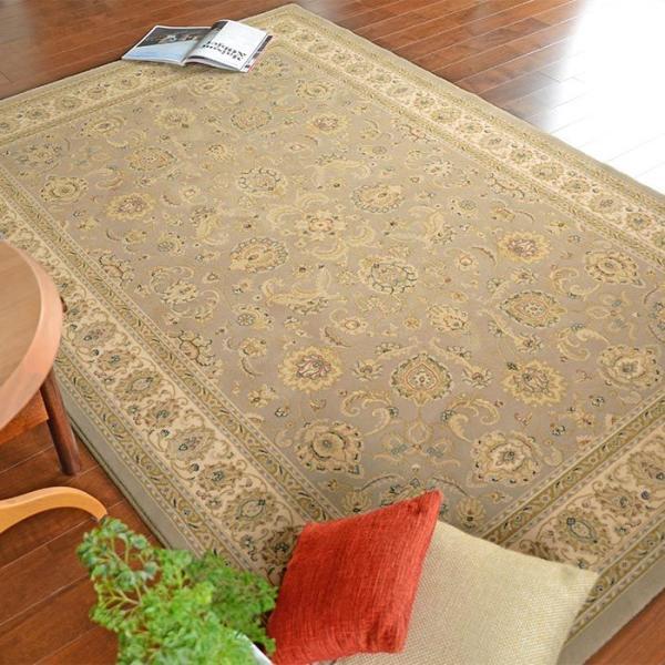カーペット ブリリアント 7543-600 200×300 cm ベルギー製 世界 最高級 ウィルトン織 絨毯 送料無料 carpet-ishibashi 05