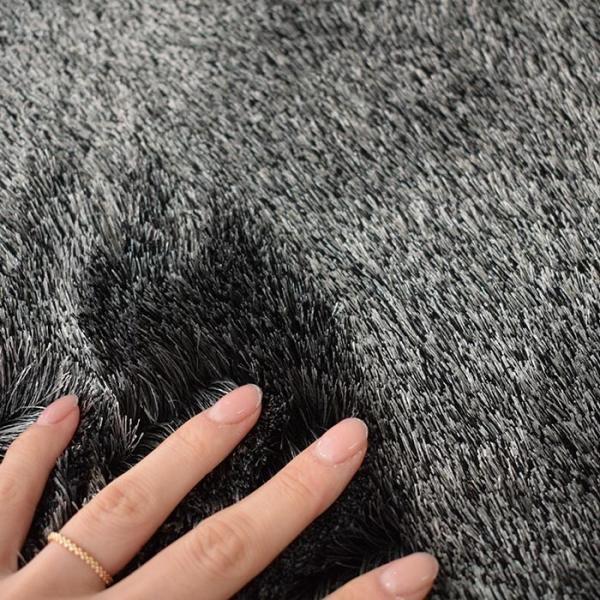 シャギーラグ ネオグラス 200×250 cm アレルゲン 抑制 防ダニ 防炎 滑り止め スミノエ製 送料無料 carpet-ishibashi 07