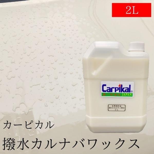 撥水WAX カーワックス プロ愛用 業務用 【破水ワックス 2L】