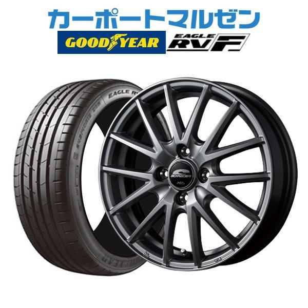 新品・・4本セットMIDシュナイダーSQ27グッドイヤーイーグルRV-F(RVF)165/55R15
