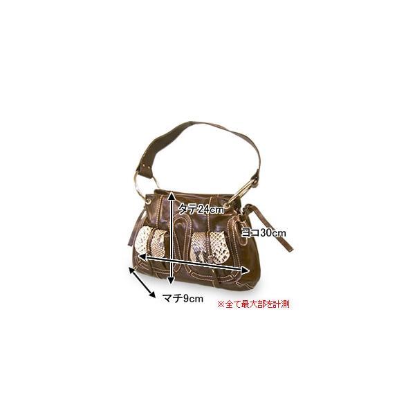 ワンショルダーバッグ レディース レディス パイソン 本革レザー イタリア製 CapoVerso ポルタ・パイソン bag|carron|05