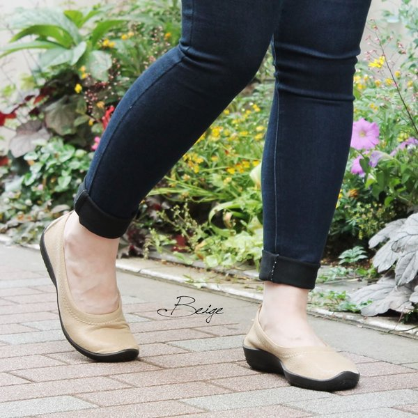 バレエシューズ パンプス レディース レディス 外反母趾 靴 痛くない 走れる アルコペディコ L'ライン BALLERINA LUXE バレリーナルクス|carron|04
