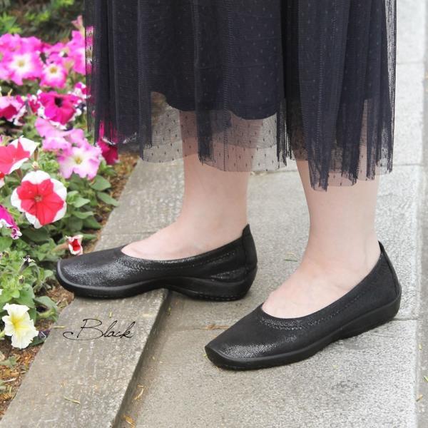 バレエシューズ パンプス レディース レディス 外反母趾 靴 痛くない 走れる アルコペディコ L'ライン BALLERINA LUXE バレリーナルクス|carron|05