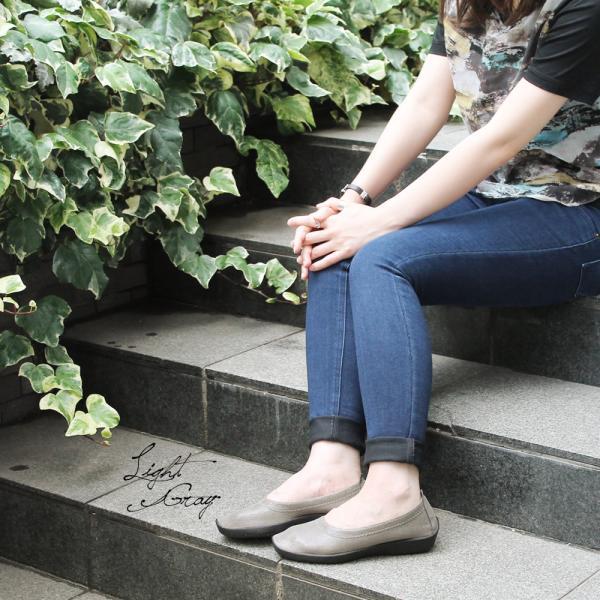 バレエシューズ パンプス レディース レディス 外反母趾 靴 痛くない 走れる アルコペディコ L'ライン BALLERINA LUXE バレリーナルクス|carron|06