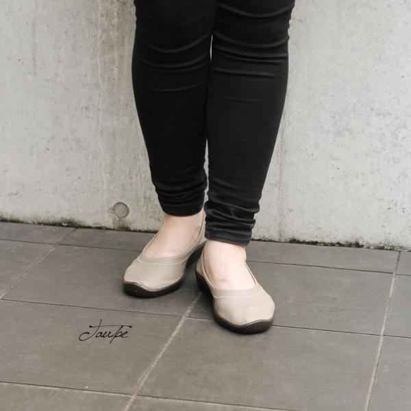 バレエパンプス バレエシューズ 靴 レディース レディス 歩きやすい 40代 50代 60代 疲れない バレリーナ ジオ1 アルコペディコ GEO1|carron|07