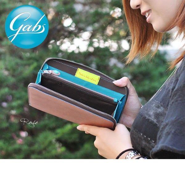 ラウンドファスナー長財布 レディース レディス ブランド カラフルシャイニーレザー イタリア GABS brand|carron|06