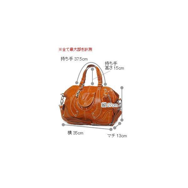 2WAYショルダーバッグ レディース レディス ボストンバッグ ラウンドファスナー本革レザー 斜め掛け イタリア製 MEGGHI ジーン bag|carron|06