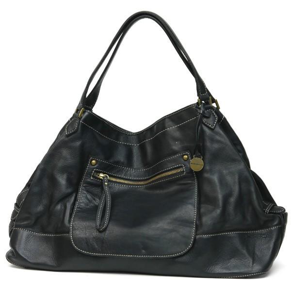 ショルダーバッグ レディース レディス ブラック 通勤 牛革 本革レザー 2WAY エディターズバッグ RABEANCO ジェネローゾ bag|carron
