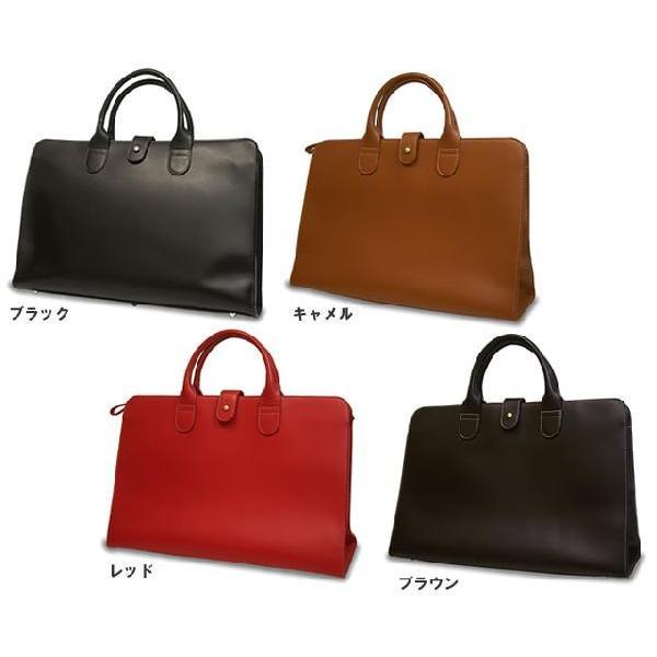 トートバッグ レディース レディス 通勤 ブリーフケース メンズ Men's かばん A4 ビジネスバッグ 上質オイルレザー レッド 赤 bag|carron|02