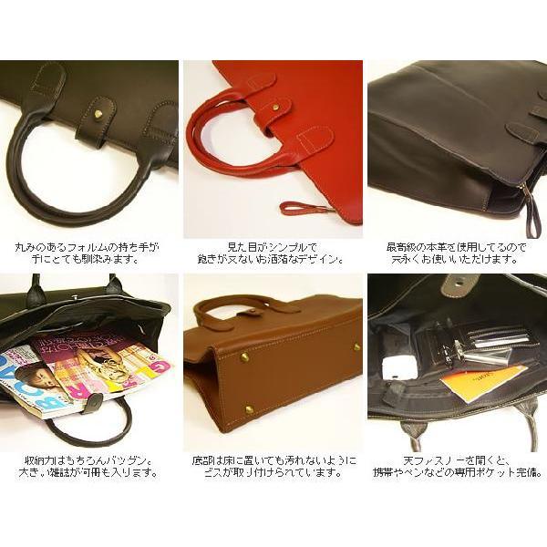 トートバッグ レディース レディス 通勤 ブリーフケース メンズ Men's かばん A4 ビジネスバッグ 上質オイルレザー レッド 赤 bag|carron|05