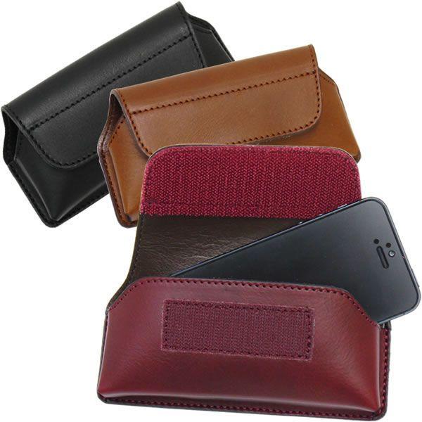 スマートフォンケース スマホケース 横型 国産 本革 ビゾンテレザー メンズ Men's レディース レディス 全3色|carron