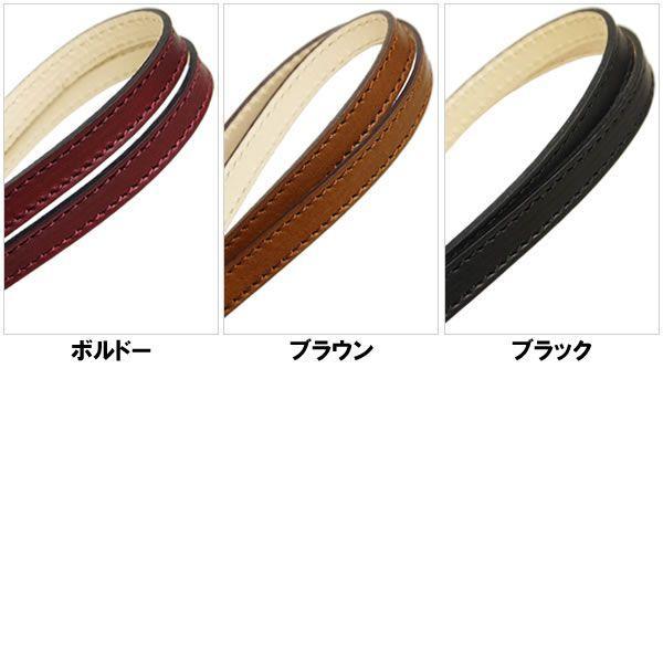 IDネックストラップ レディース レディス メンズ Men's 国産 ビゾンテレザー 全3色|carron|03