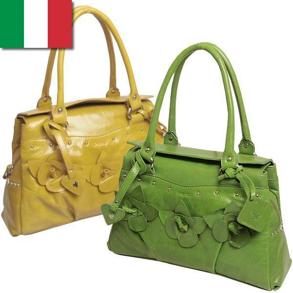 クラシカル ショルダーバッグ レディース レディス フラワーコサージュ 本革レザー イタリア carraro フランカ bag|carron