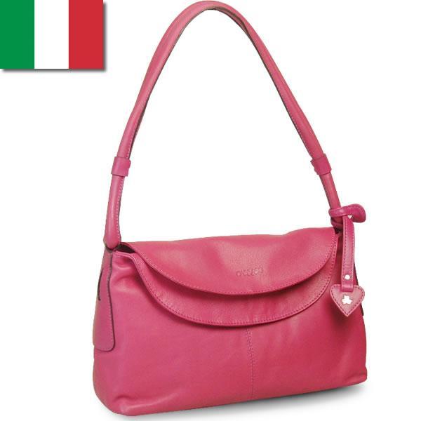 口折れショルダーバッグ レディース レディス クラシカル 本革レザー イタリアブランド carraro イラリア brand bag|carron