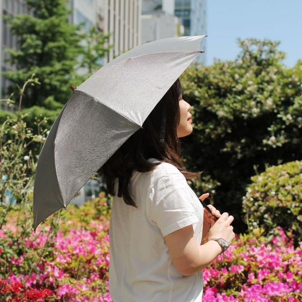 スパッタリング 日傘 ヌーベルジャポネ 折りたたみ傘 遮光 遮熱 軽量 折り畳み 丈夫 UV ブランド brand メンズ Men's レディース レディス 日本製|carron|04