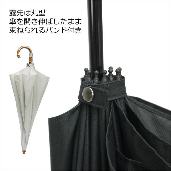 晴雨兼用折りたたみ傘 8本骨 丈夫 日傘 レディース レディス 軽量 日本製 おしゃれ 雨傘 UV コットンピケ スライドショート バンブーハンドル タッセル|carron|11