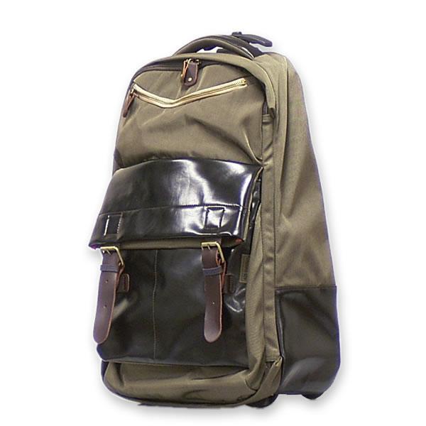 ソフトキャリーバッグ モノ・トロリー ナイロン イタリアブランド SUPERGA brand bag carron