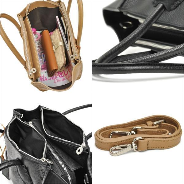 ラゲージトートバッグ レディース レディス 2WAY 斜め掛け 仕事 舟型 カーフレザー イタリアブランド roberto pancani brand bag|carron|04
