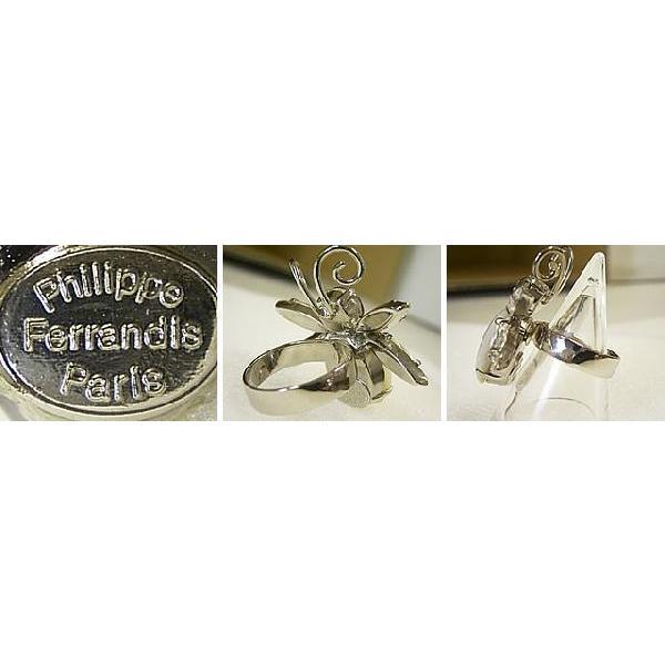 フリーサイズ指輪 レディース レディス スワロフスキー デザインリング フランスブランド PhilippeFerrandis ミツバチ brand