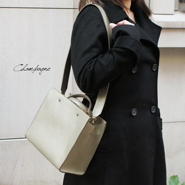 スクエアトートバッグ レディース 小さめ ハンドバッグ 本革レザー 2WAY ミニショルダーバッグ イタリアブランド CHRISTIAN VILLA brand レディス bag|carron|05
