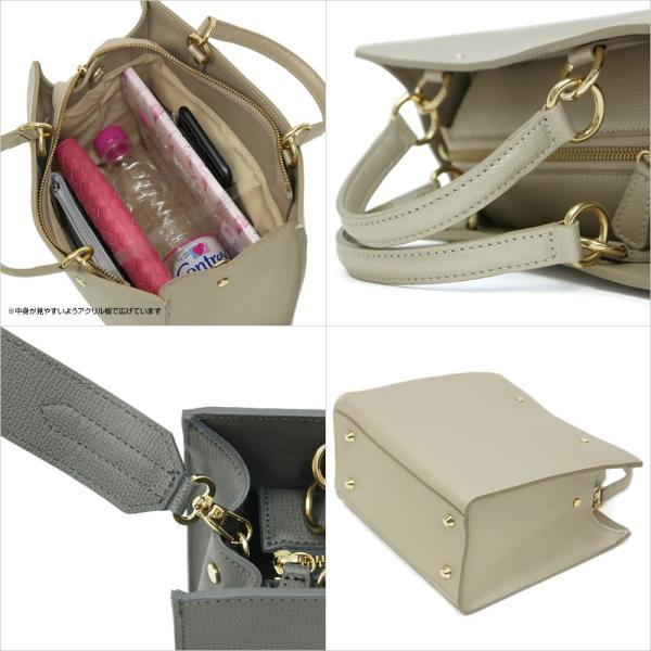 スクエアトートバッグ レディース 小さめ ハンドバッグ 本革レザー 2WAY ミニショルダーバッグ イタリアブランド CHRISTIAN VILLA brand レディス bag|carron|07