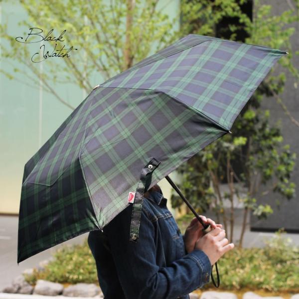 折りたたみ傘 自動開閉 おしゃれ チェック 折り畳み ワンタッチ傘 丈夫 ビジネス レディース レディス メンズ Men's 折りたたみ雨傘 イタリア rainbow|carron|02